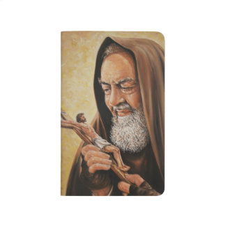 Diário St. Padre Pio com crucifixo