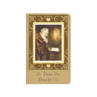 Diário St. Padre Pio no altar