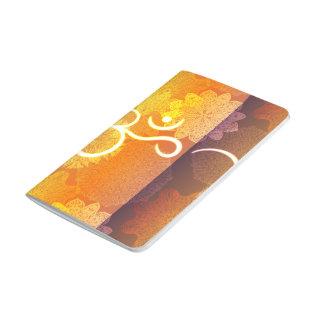 Diário Teste padrão indiano do ornamento com símbolo do