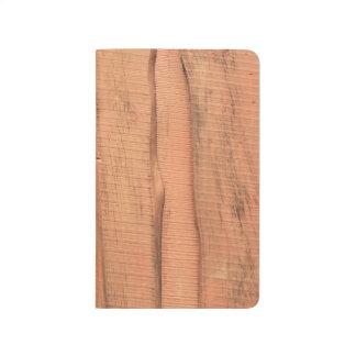 Diário Textura de madeira