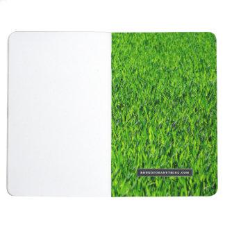 Diário Textura verde da grama do verão