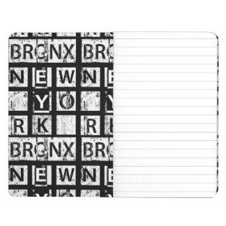 Diário Tipografia do Grunge de Bronx New York  