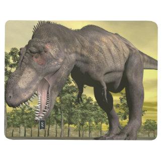 Diário Tiranossauro irritado - 3D rendem