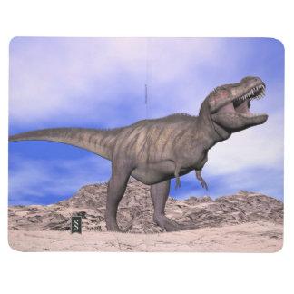 Diário Tiranossauro que ruje - 3D rendem