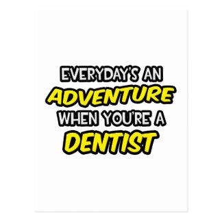 Diário um dentista da aventura… cartão postal