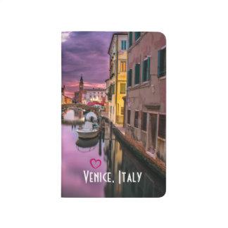 Diário Veneza, canal cénico de Italia & arquitetura