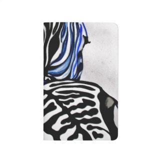 Diário Zebra Funky (arte de Kimberly Turnbull)