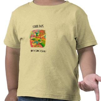 Dias escolares camiseta