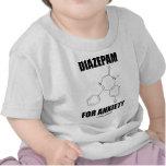 Diazepam para a ansiedade (molécula química clara)