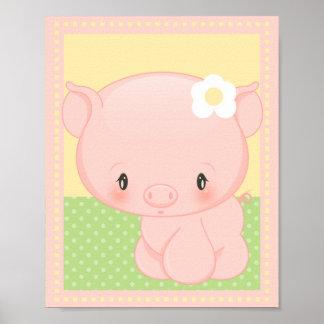Diddles o impressão da arte do porco