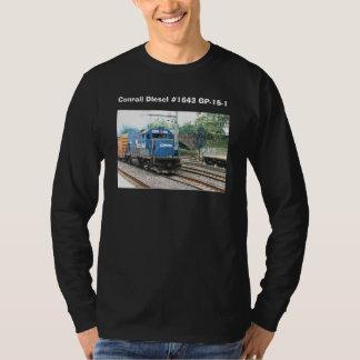 Diesel #1643 GP-15-1 de Conrail T-shirts