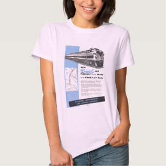 Diesel da estrada de ferro para R.F.& vital P. Camisetas