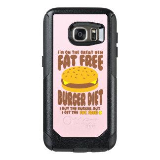 Dieta livre de gordura do hamburguer