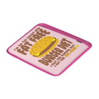 Dieta livre de gordura do hamburguer bolsa para MacBook air