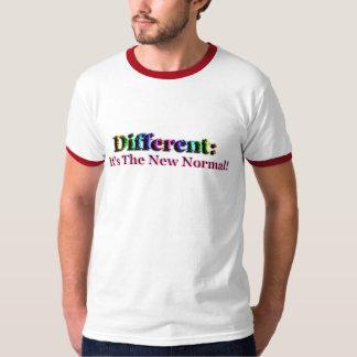 Diferente é normal. Inabilidade da especialidade T-shirt