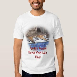 Diga-me o feltro LikeThis de You'veNever T-shirt