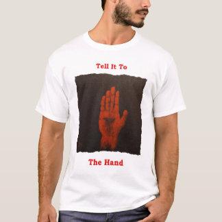 Diga-o à camisa irlandesa da mão T