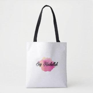 Diga o bolsa de MashAllah
