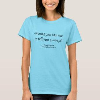 Diga uma camisa das citações da história