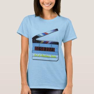 digital_film_slate, fora dos filmes da nenhumaa camiseta