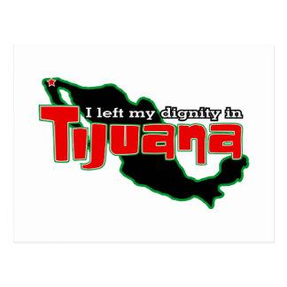Dignidade de Tijuana Cartoes Postais