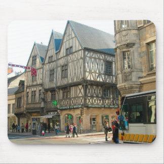 Dijon, Borgonha, construção medieval de France Mouse Pad