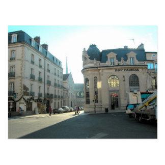 Dijon, Borgonha, France, centro de cidade de Dion Cartão Postal