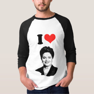 Dilma Rousseff - líder internacional - .png Tshirts