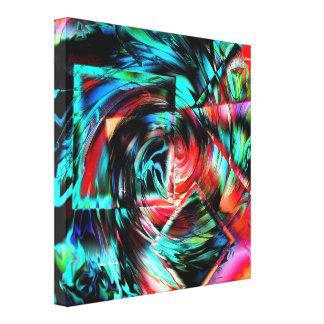 Dimensão Impressão De Canvas Envolvida