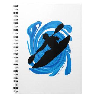 Dimensão dos corações cadernos espiral