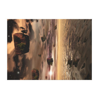 Dimensão exterior impressão em tela