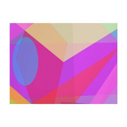 Dimensões Impressão De Canvas Envolvida
