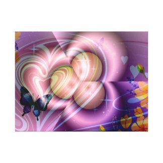 Dimensões celestiais - impressão das canvas impressão de canvas envolvidas