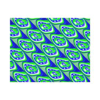 Dimensões naturais impressão em tela