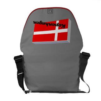 Dinamarca 3D Bolsas Mensageiro