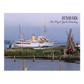 Dinamarca bonita, o cartão real do iate!