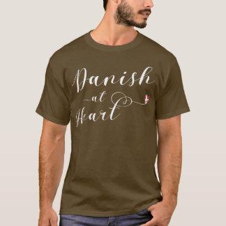 Dinamarquês na camiseta do coração, Dinamarca