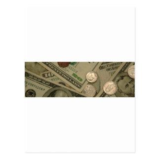 Dinheiro disparado - toda sobre o dinheiro cartão postal
