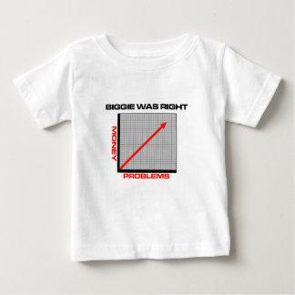 Dinheiro do Mo mais problemas Camiseta Para Bebê