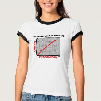 Dinheiro do Mo mais problemas Tshirts