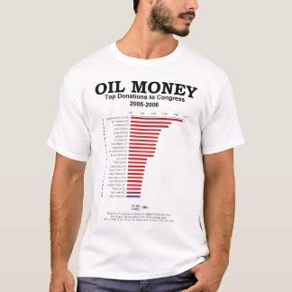 Dinheiro do óleo ao congresso camiseta