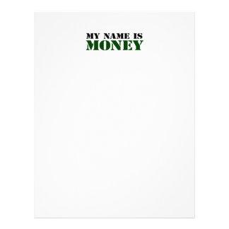 Dinheiro Panfletos Personalizado