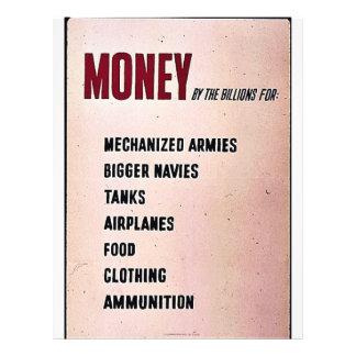 Dinheiro Panfletos