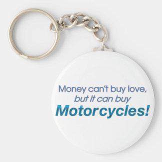 Dinheiro & motocicletas chaveiro