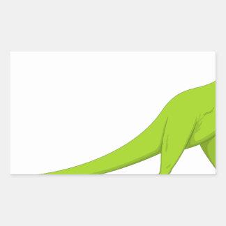 Dinossauro Adesivo Retangular