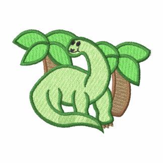 Dinossauro Agasalho Jogger De Lã Bordado