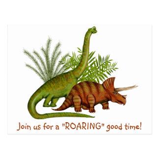 Dinossauro Cartão Postal