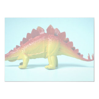 Dinossauro Convite 12.7 X 17.78cm