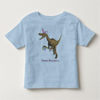 dinossauro da páscoa camiseta infantil