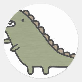 Dinossauro de agitação! adesivo